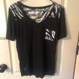 Copper Key zebra shirt